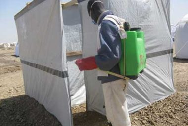 Backpack Sprayers, Insecticides & Safety Equipment