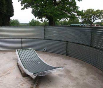 Corrugated Tank Steel Panel Kits