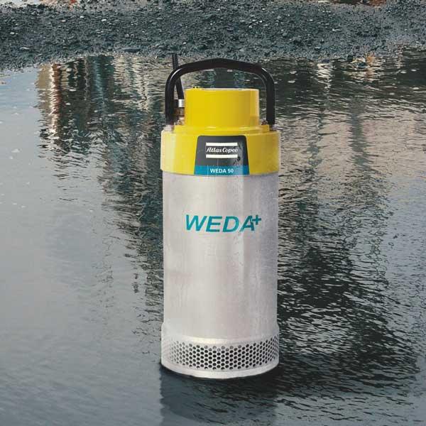 Weda Pumps. Electric, Submersible, Dewatering