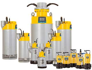 Extensive Range of Water, Fuel and Trash Pumps